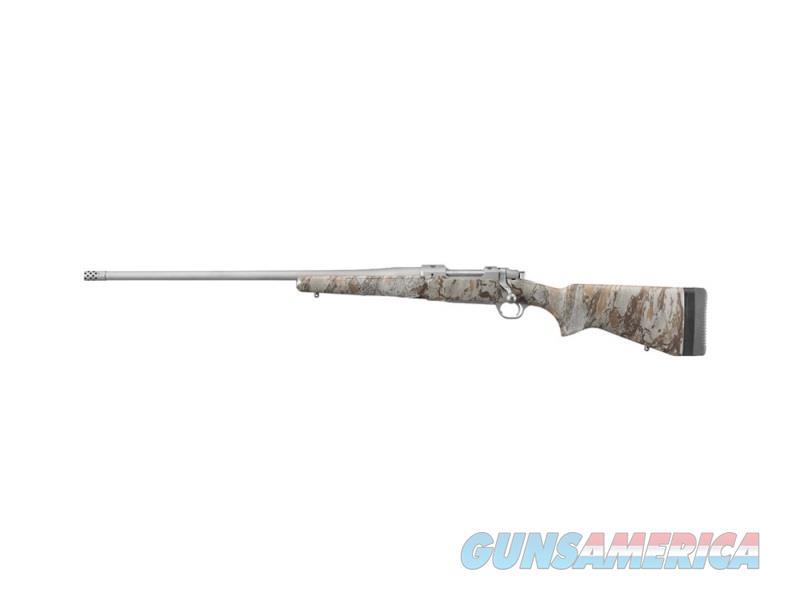 Ruger HAWKEYE FTW 6.5CR SS/CAMO LH 47174 NATURAL GEAR CAMO  Guns > Rifles > R Misc Rifles