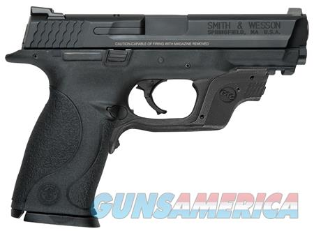 "Smith & Wesson 10174 M&P 9 Crimson Trace Laserguard  9mm Luger Double 4.25"" 17+1 Black  Guns > Pistols > Smith & Wesson Pistols - Autos > Polymer Frame"