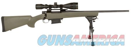 "Howa HGK36107BP Hogue Gameking Scope Package Bolt 223 Remington 20"" 10+1 Hogue Overmolded Green Stk  Guns > Rifles > Howa Rifles"
