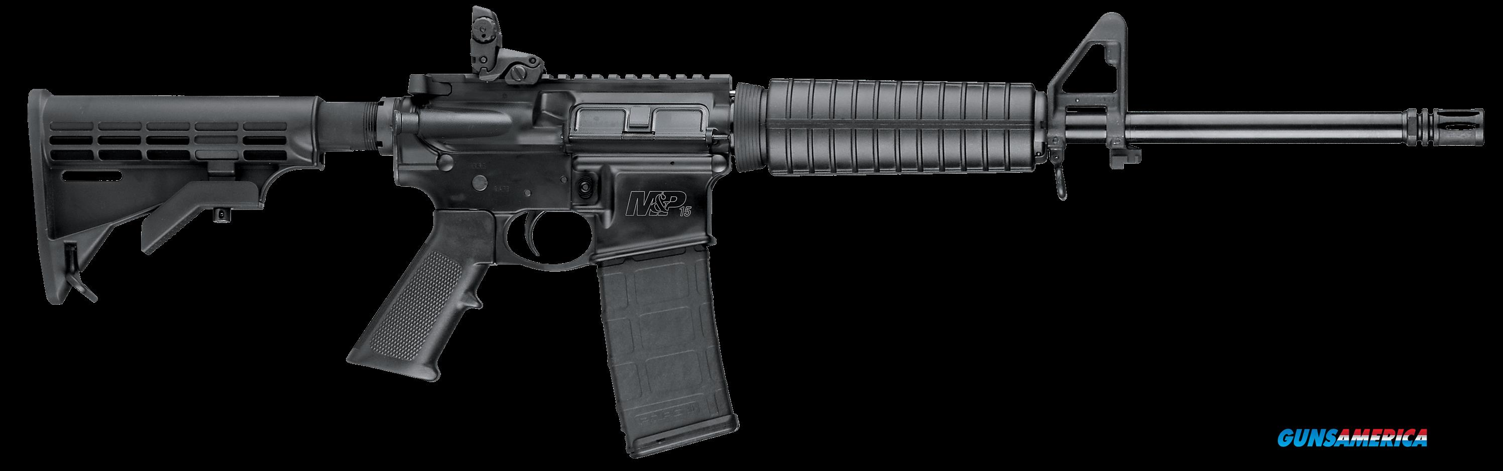 "Smith & Wesson 10202 M&P 15 Sport II Semi-Automatic 223 Rem/5.56 NATO 16"" 30+1 6-Position Black Stk  Guns > Rifles > S Misc Rifles"