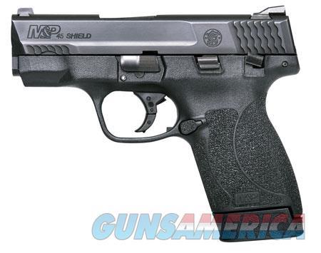 "Smith & Wesson 180022 M&P 45 Shield M2.0 45 ACP Double 3.3"" 6+1/7+1 Black Polymer Grip/Frame Black  Guns > Pistols > Smith & Wesson Pistols - Autos > Shield"