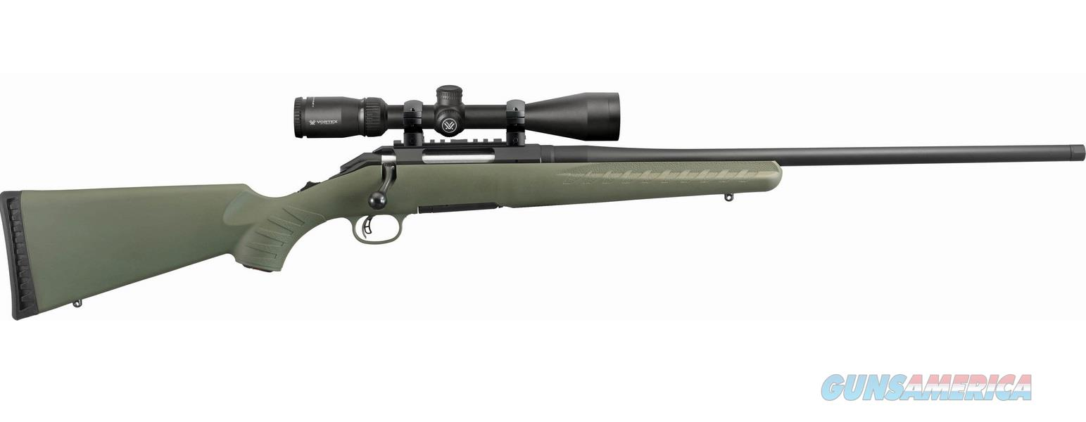 Ruger AMER PREDATOR 308WIN VORTEX 16954|MOSS GREEN|VORTEX PKG  Guns > Rifles > R Misc Rifles