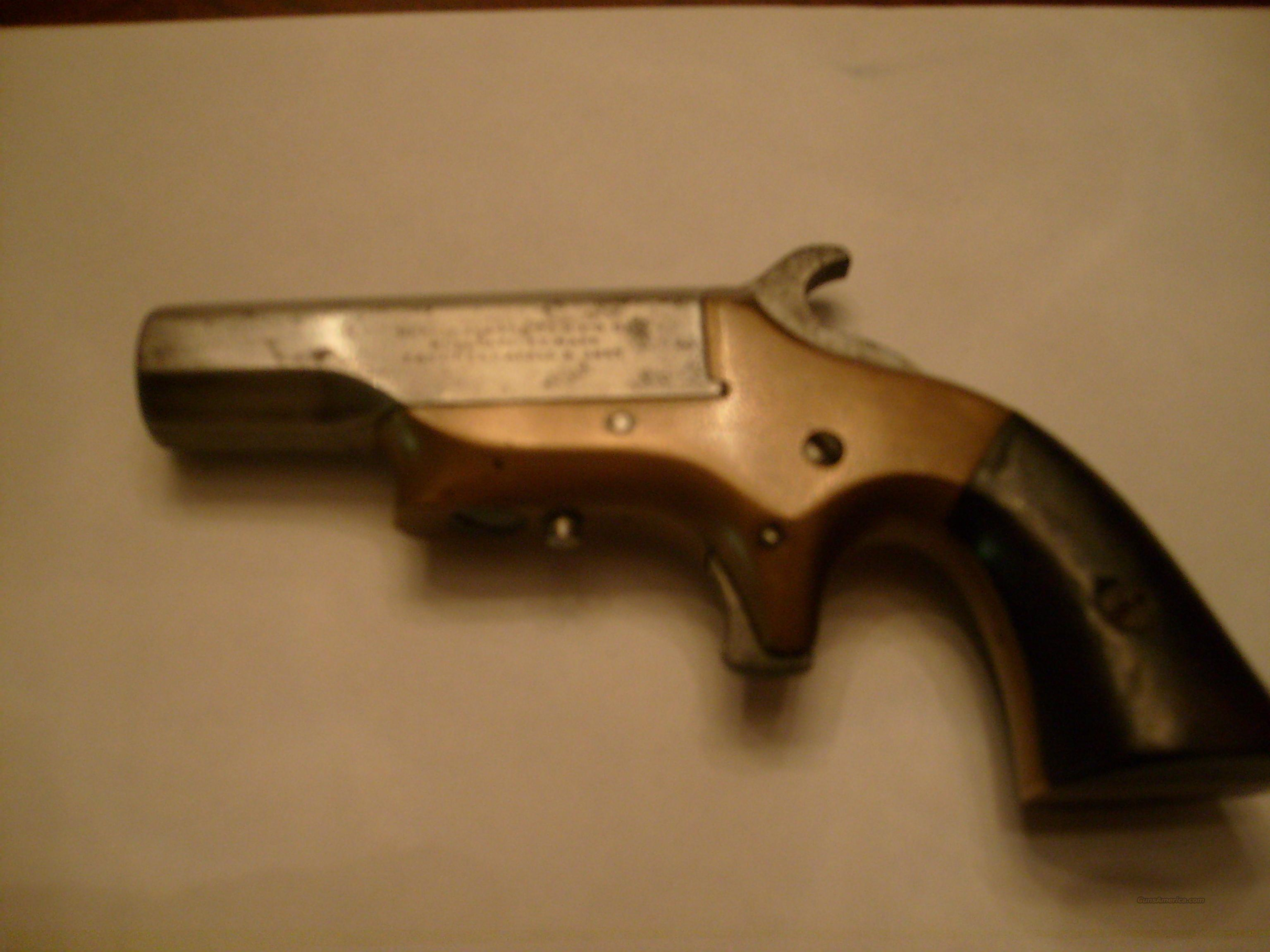 Southerner Derringer patent april 9,1867  Guns > Pistols > Derringer Pre-1899