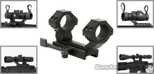 NCSTAR QUICK RELEASE SCOPE MOUNT WITH RINGS MODEL# MARCQ  Non-Guns > Gun Parts > Tactical Rails (Non-AR)