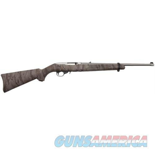 """Ruger 1286 10/22 Carbine Semi-Automatic 22 Long Rifle (Lr) 18.5"""" 10+1 Synthetic Natural Gear Camo Stk Stainless 1286  Guns > Rifles > R Misc Rifles"""