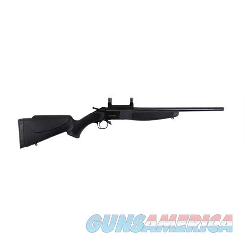 Cva Hunter Compact 243Win Blue Blk W/Mount CR5110  Guns > Rifles > C Misc Rifles