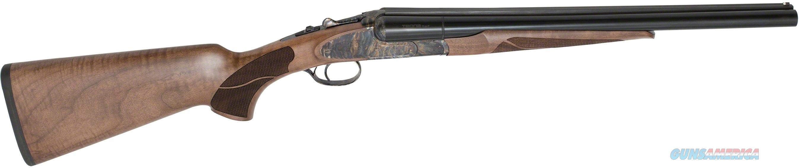 "ZENITH TEDNA C12T EXCELLENCE COACH SIDE BY SIDE SHOTGUN, 12 GUAGE, 18.5"" BBL, WALNUT CASE HARDENED, RUBBER BUTT PLATE TEC12T0185CH  Guns > Rifles > XYZ Misc Rifles"