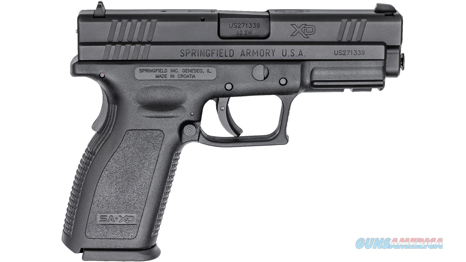 SPRINGFIELD ARMORY XD 40SW 4 FULL SIZE ESSENTIALS PKG 10RD BLK XD9102  Guns > Pistols > Springfield Armory Pistols > XD (eXtreme Duty)