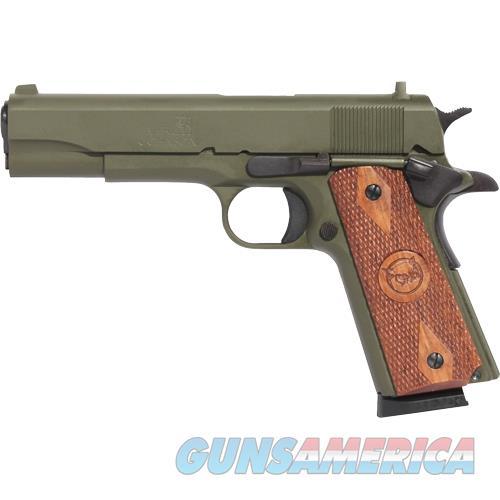 "Iver Johnson Arms Johnson 1911A1 .45Acp 5"" Fs 8Rd Cerakote Od Green Wood 1911A1 O.D. GREEN  Guns > Pistols > IJ Misc Pistols"