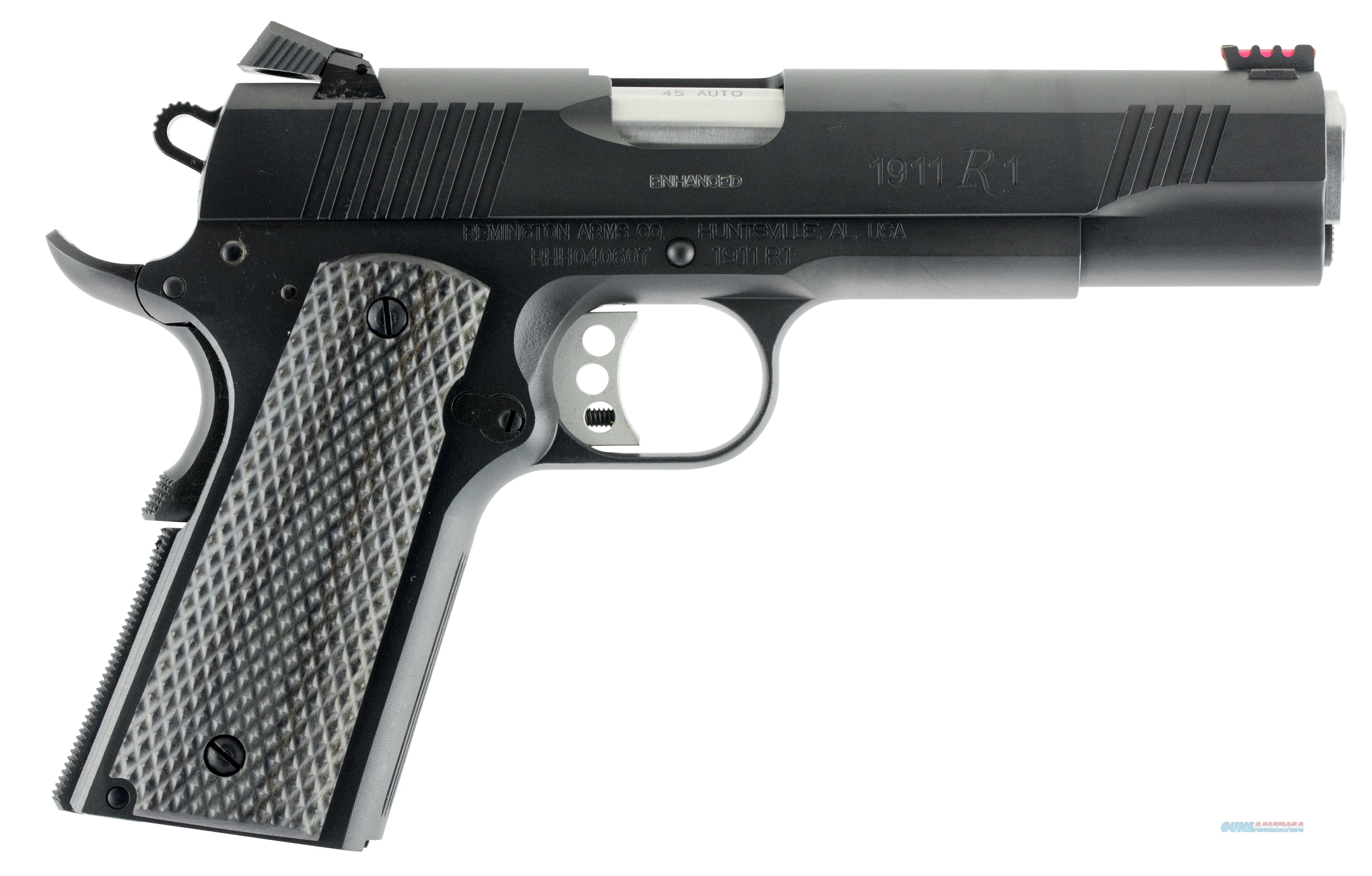 REMINGTON R1 1911 ENHANCED TG TRIG 96328  Guns > Pistols > Remington Pistols - Modern > 1911