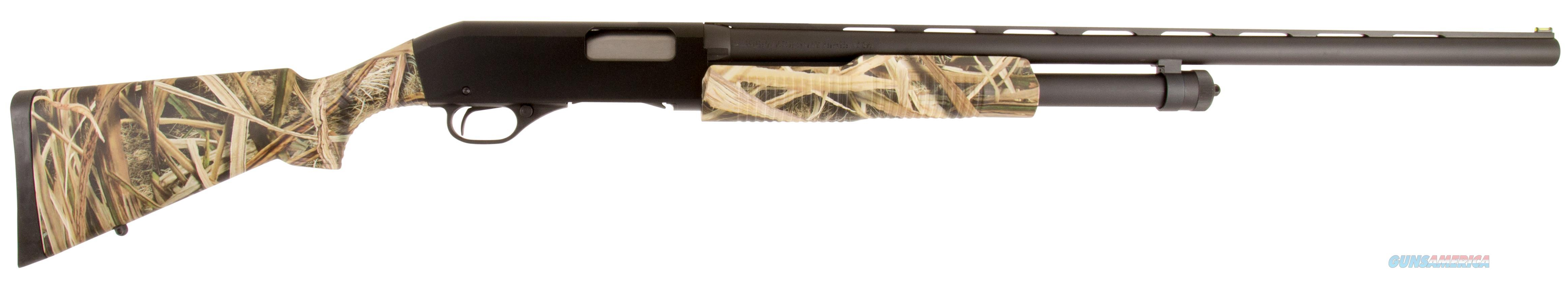 "Savage 22563 320 Pump 12Ga 26"" 3"" Mossy Oak Shadow Grass Blades Synthetic Stk Blk 22563  Guns > Shotguns > S Misc Shotguns"