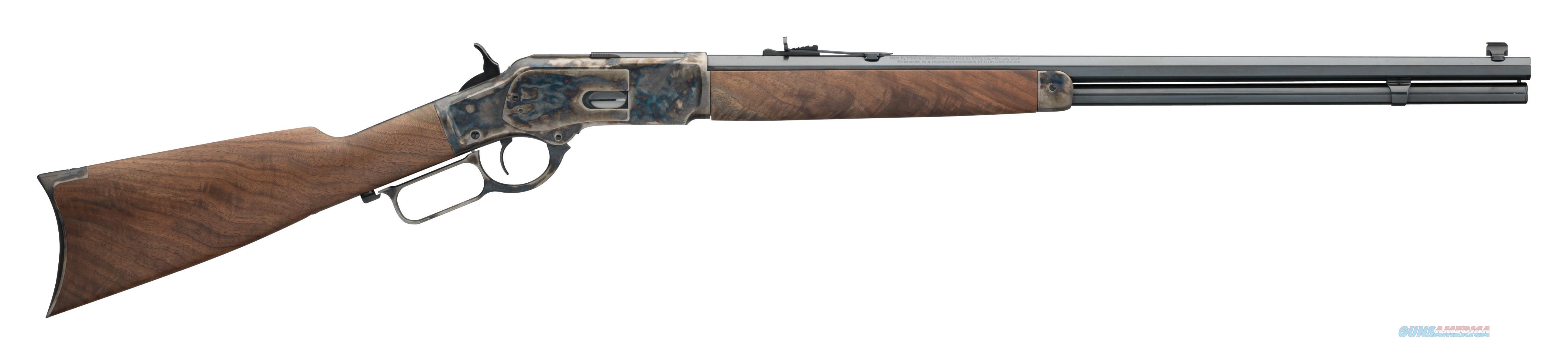 "Winchester Guns 534228141 1873 Sporter Lever 45 Colt (Lc) 24"" 14+1 Black Walnut Stk Blued Barrel/Case Hardened Receiver 534228141  Guns > Rifles > W Misc Rifles"