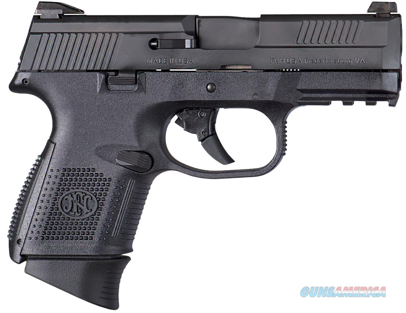 "Fn 66721 Fns Double 40 Smith & Wesson (S&W) 3.6"" 14+1 Black Polymer Grip Black 66721  Guns > Pistols > F Misc Pistols"