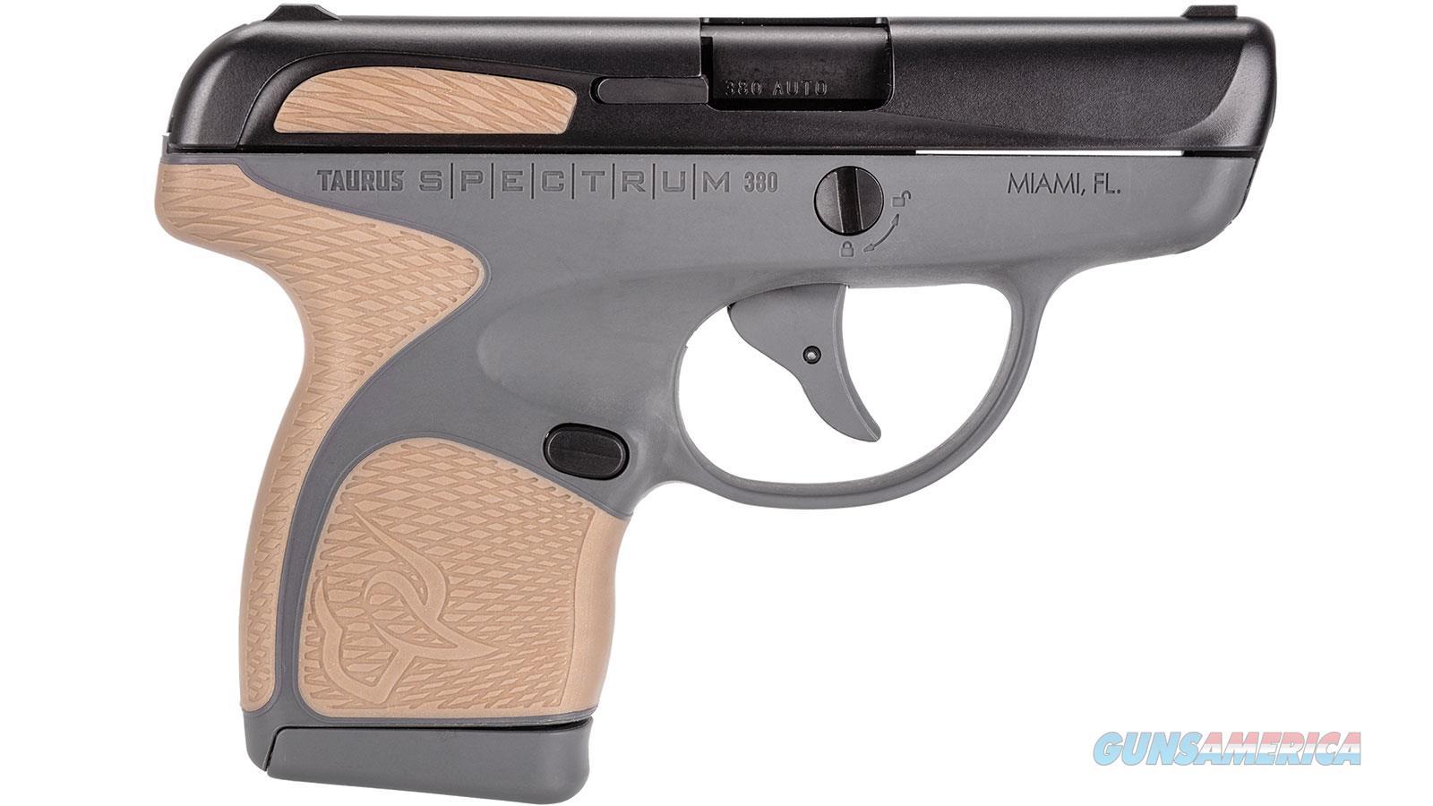 """Taurus Spectrum 380Acp 2.8"""" 6/7Rd 1007031218  Guns > Pistols > TU Misc Pistols"""