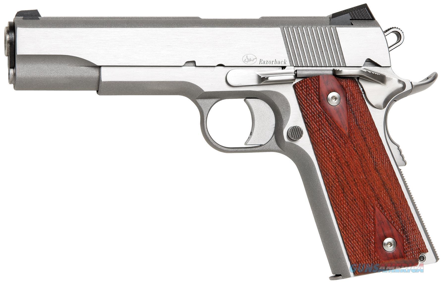 "Dan Wesson 01907 Dw Razorback Rz-10 Sao 10Mm 5"" 9+1 Fs Cocobolo Grip Ss 01907  Guns > Pistols > C Misc Pistols"