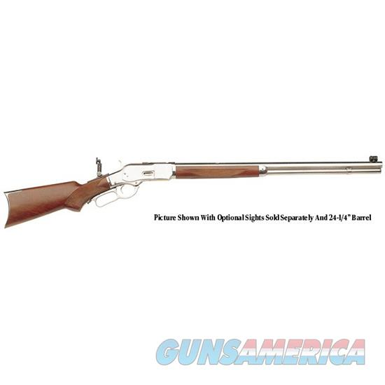 Taylor's & Co Uberti 1873 357Mag 20 Pg White Finish 213W03  Guns > Rifles > TU Misc Rifles