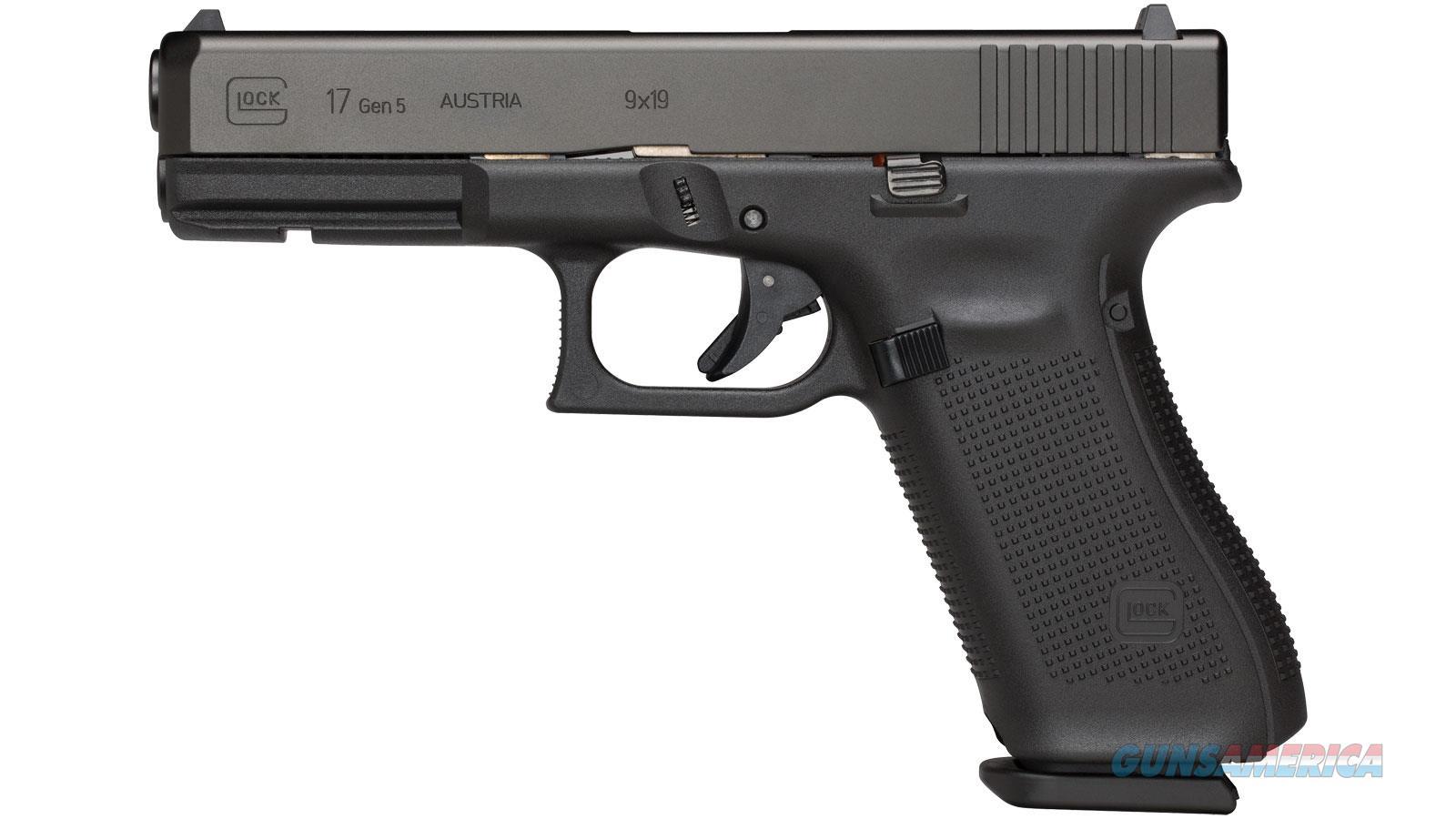 """Glock G17 Gen5 9Mm 4.5"""" 17Rd PA1750703  Guns > Pistols > G Misc Pistols"""
