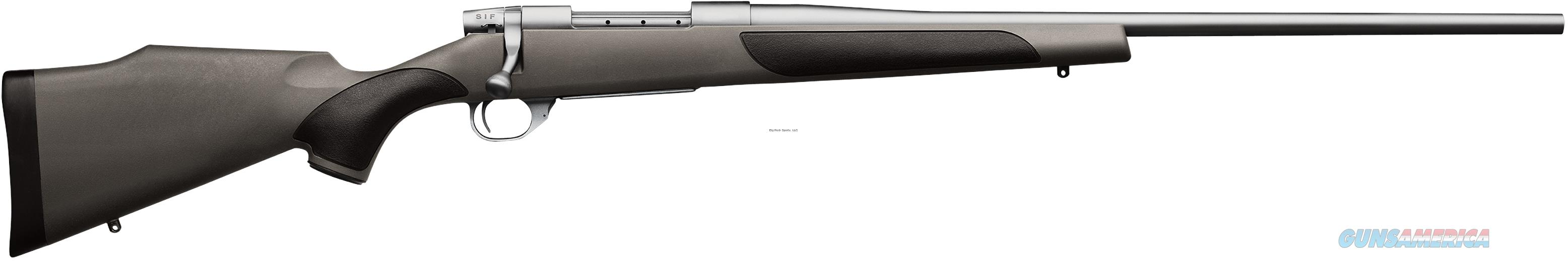 """Weatherby Vanguard Stainless Synthetic Bolt Rifle 300 Win 26"""" Ss #2, Grey W/Blk Griptonite VGS300NR6O  Guns > Rifles > W Misc Rifles"""