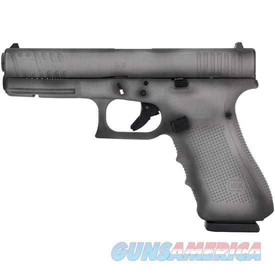 Glock 17 Gen4 9Mm 4.49 Fs 17Rd Shadow Grey PG1750203SG  Guns > Pistols > G Misc Pistols
