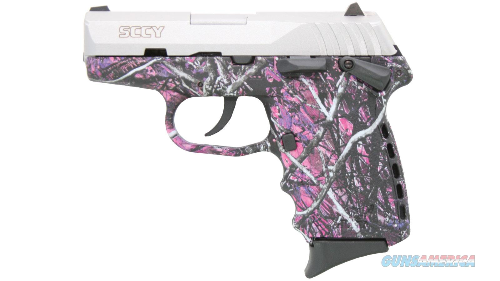 Sccy Industries Cpx1-Tt Pistol Dao 9Mm 10Rd Ss/Muddy Girl Safety CPX1-TTMG  Guns > Pistols > S Misc Pistols
