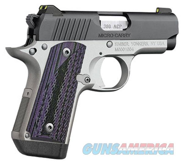Kimber 380Acp Micro Advc Purple Grp KIM3300086  Guns > Pistols > K Misc Pistols