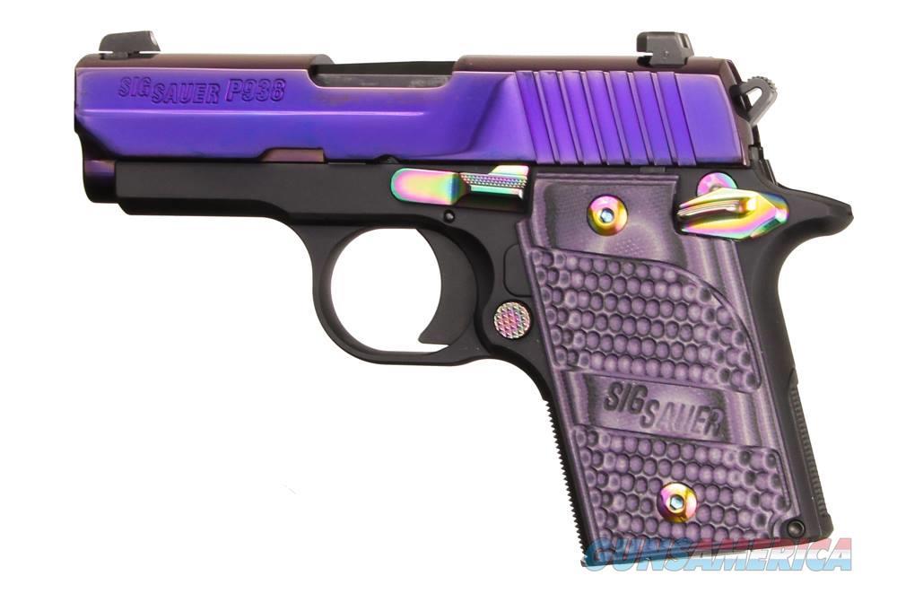 P938 9Mm Purple/Slite Ambi 938-9-PSP-AMBI  Guns > Pistols > S Misc Pistols