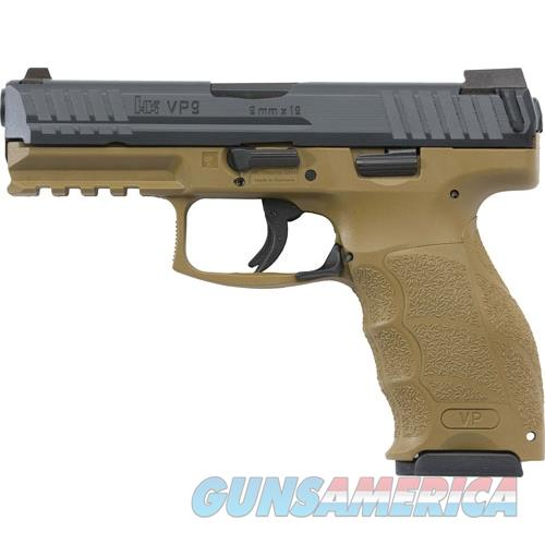 "Heckler & Koch Vp9 Striker Fired 9Mm 4.09"" Bbl 3-Dot Fs 2-15Rd Fde M700009FDE-A5  Guns > Pistols > H Misc Pistols"