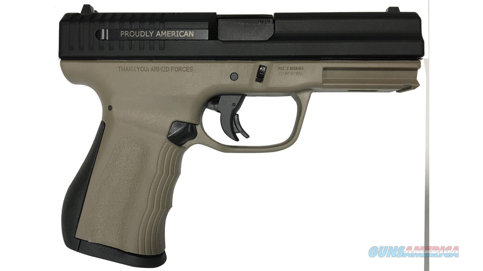 Fmk Firearms 9Mm G2 Dao 10Rd Fde FMKG9C1G2DECM  Guns > Pistols > F Misc Pistols