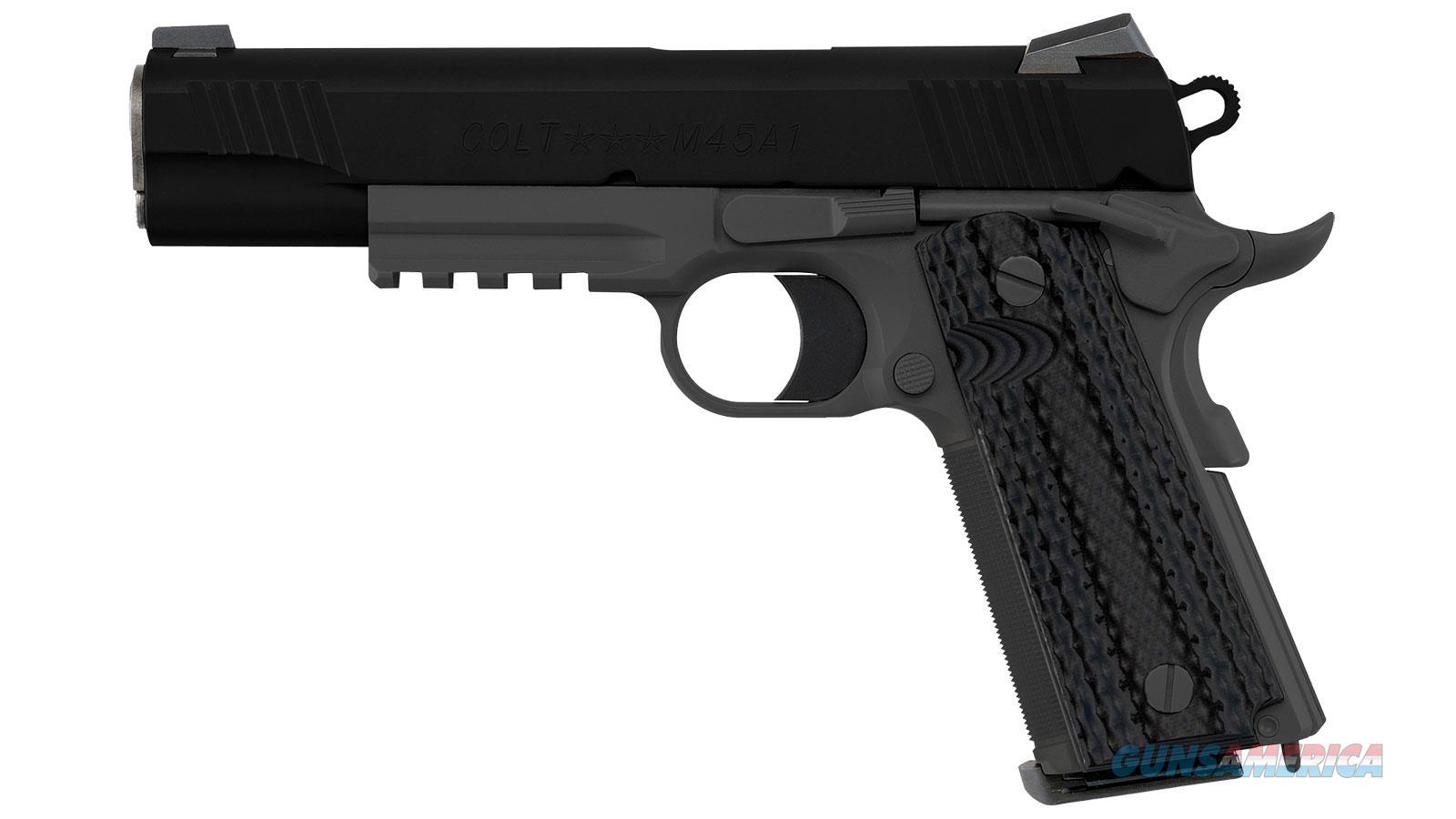 Colt Cmc Marine Pistol 45Acp 5 Cerokote Ns O1070CQB  Non-Guns > Magazines & Clips > Pistol Magazines > Other