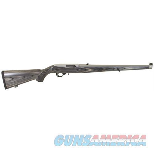 "Ruger 1132 10/22 Carbine Semi-Automatic 22 Long Rifle (Lr) 18.5"" 10+1 Laminate Black Mannlicher Stk Stainless Steel 1132  Guns > Rifles > R Misc Rifles"