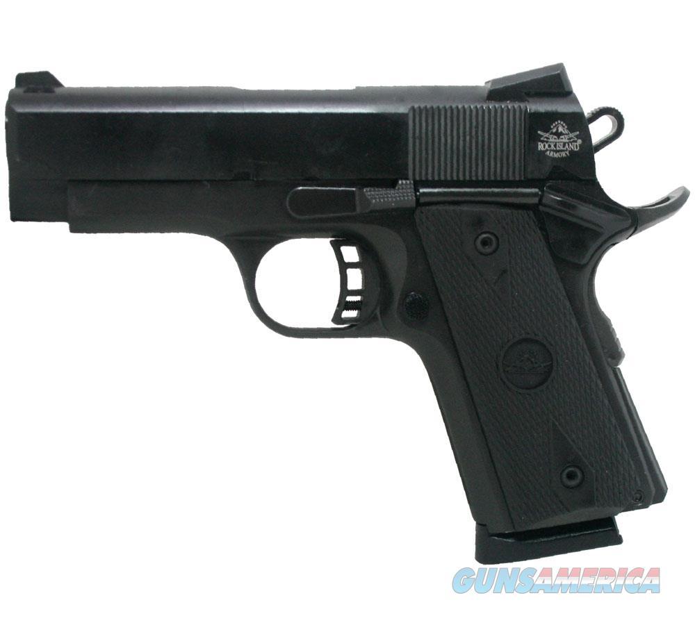"Armscor/Rock Island 1911Rock Std Cs 45Acp 7Rd 3.6"" 51429  Guns > Pistols > A Misc Pistols"