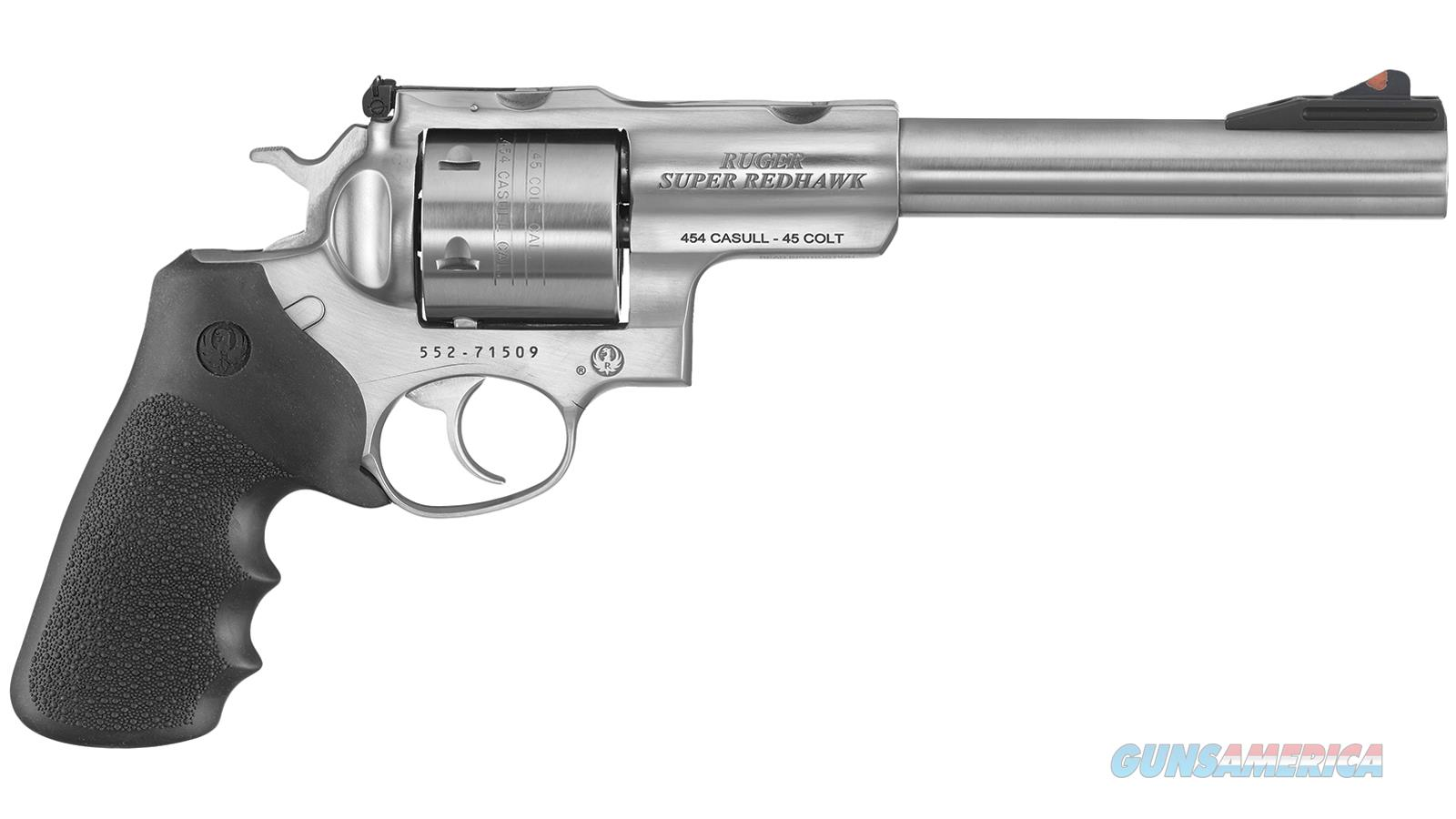 Ruger Sup Rdhk Std 454 7.5 5505  Guns > Pistols > R Misc Pistols