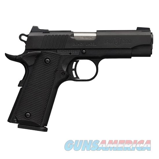 Browning 1911 380Acp Black Lb Special Compact 2 Grips 051941492  Guns > Pistols > B Misc Pistols