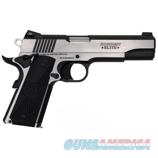 Colt Combat Elite 45Acp 5 Government Tt-Elite O1080CE  Guns > Pistols > C Misc Pistols