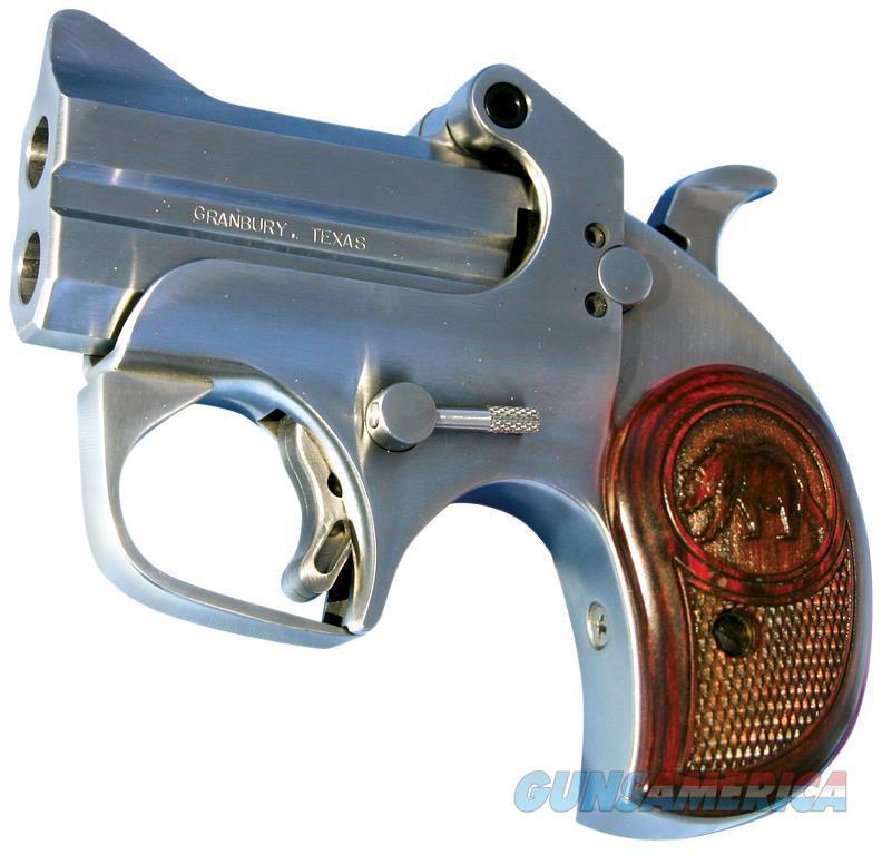 "BOND ARMS CACD CA DEFENDER *CA COMPLIANT* DERRINGER SINGLE 9MM 2.5"" 2RD STAINLES CACD  Guns > Pistols > B Misc Pistols"