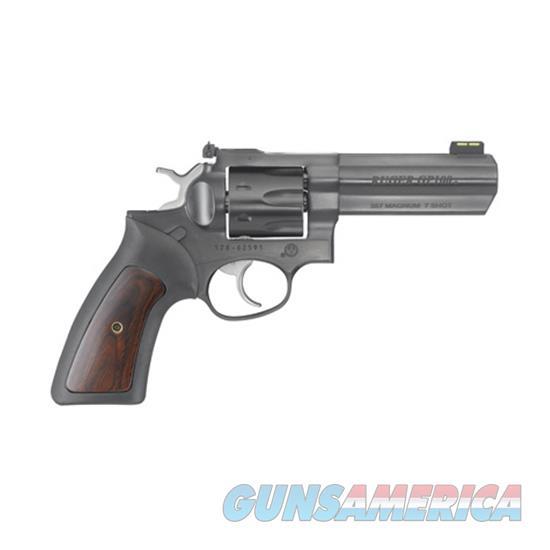 "Talo Gp100 .357Mag 4.20"" Adj. Blue Rubber W/Hardwood 7-Shot RUG 1772  Guns > Pistols > TU Misc Pistols"