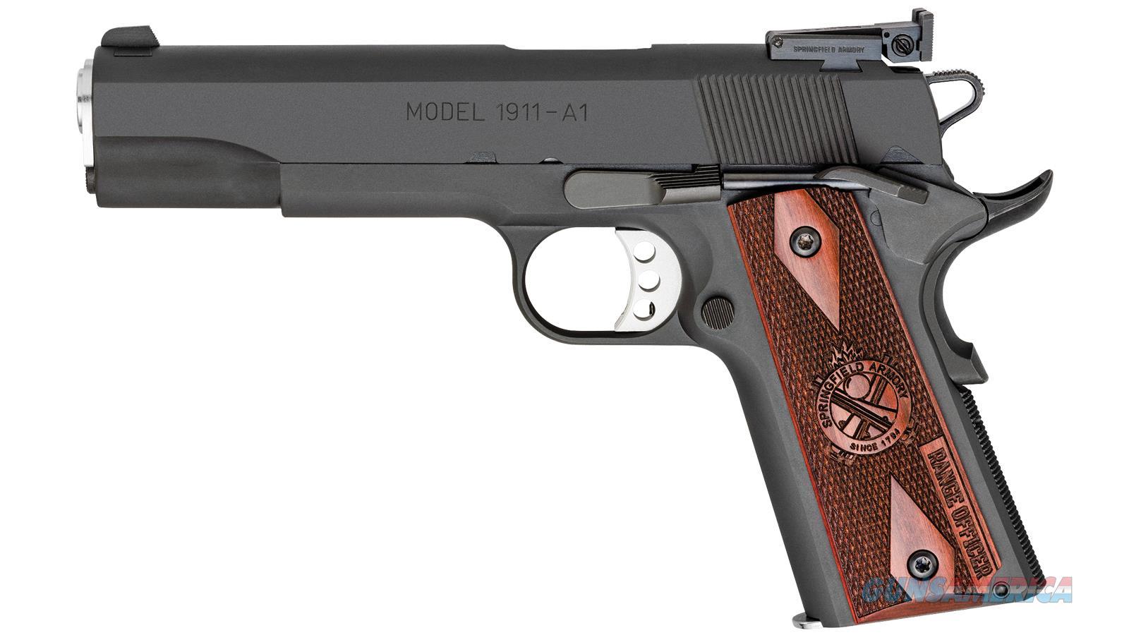 Springfield Armory 1911 45Acp 5 Range Officer Parkerized 8Rd PI9128L  Guns > Pistols > S Misc Pistols