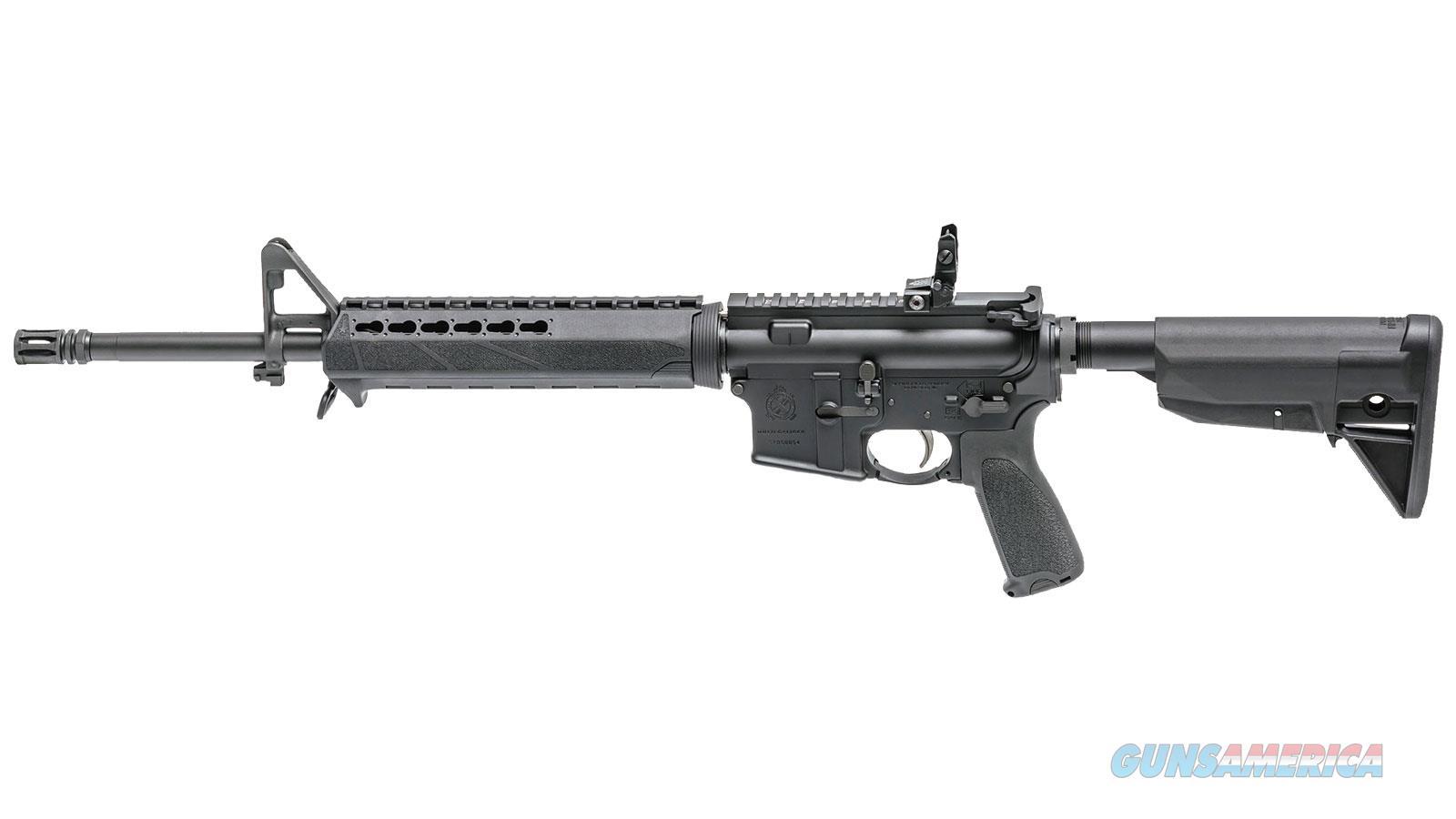 Springfield Armory Saint 5.56 16 Bravo 6Pos Stk & Km Hg 10Rd ST916556BLC  Guns > Rifles > S Misc Rifles