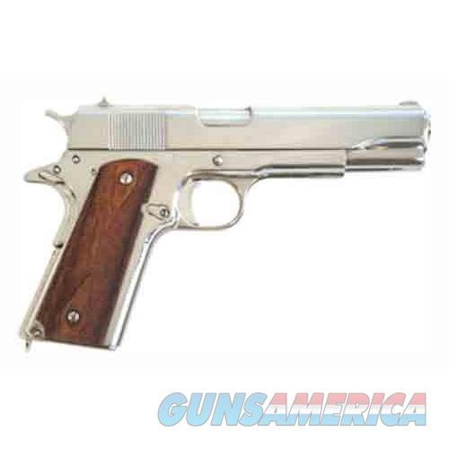 "Cimarron Firearms 1911A1 .45Acp 5"" Fs 8-Shot Polished Nickel Walnut 1911NOO  Guns > Pistols > C Misc Pistols"