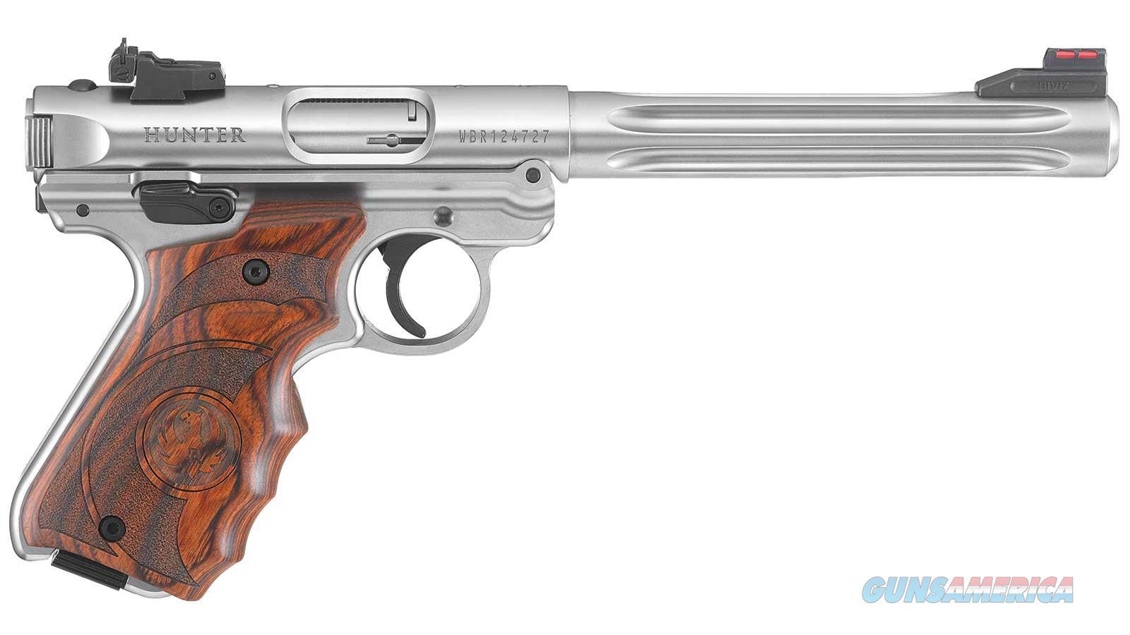 "Ruger Mark Iv Htr 22Lr 6.88"" 10Rd 40160  Guns > Pistols > R Misc Pistols"