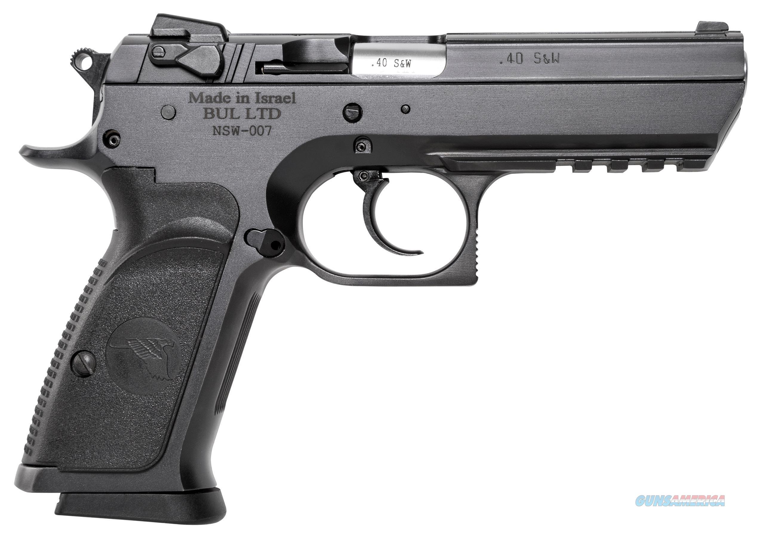 "Magnum Research Babyeagleiii40s&W4.43""B Fs Steelrail2/13 BE94133R  Guns > Pistols > MN Misc Pistols"