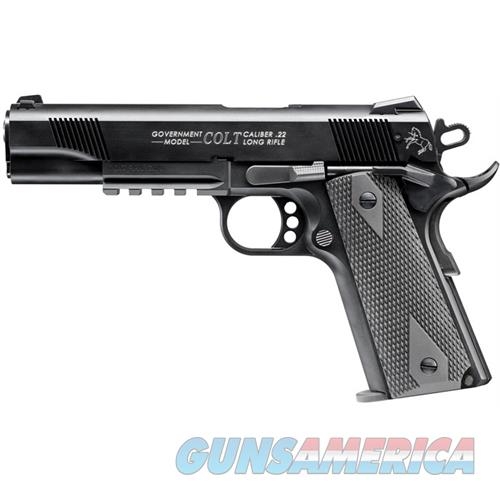 Walther Arms Colt 1911 22Lr Rail 10Rd 517030810  Guns > Pistols > W Misc Pistols