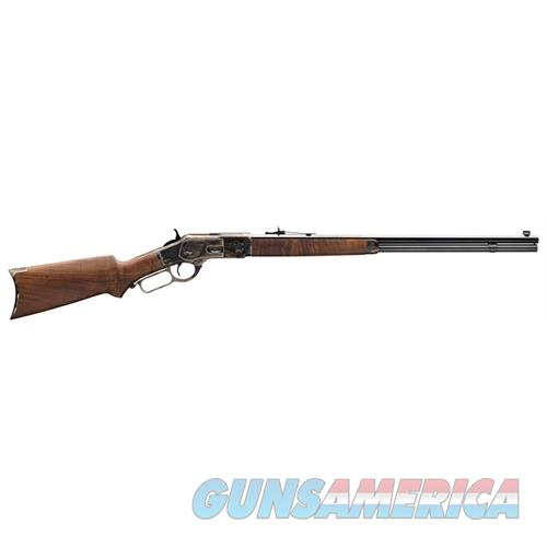 """Winchester 1873 Sporter .44-40 Win. 24""""Oct Case Colored/Blued Pg 534228140  Guns > Rifles > W Misc Rifles"""