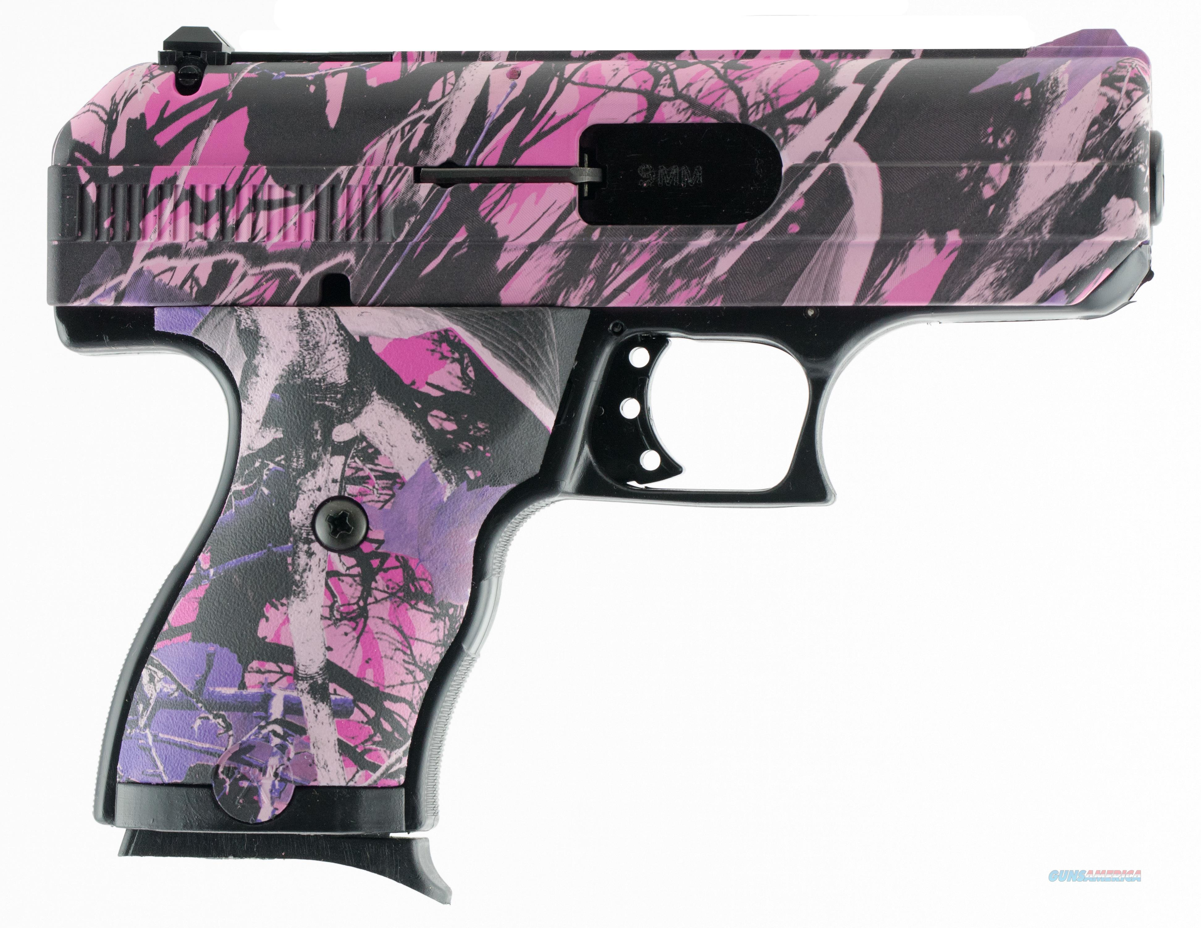 "HIPOINT C-9 9MM 3.5"" 8RD S/A CAMO 916 PI  Guns > Pistols > Hi Point Pistols"