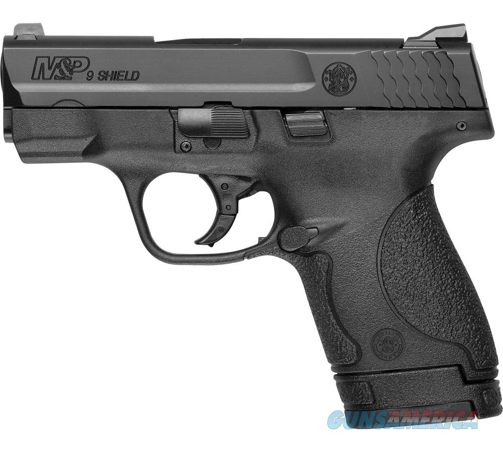 "Smith & Wesson M&P Shld 9Mm 3.1"" 7/8Rd Blk 10038  Guns > Pistols > S Misc Pistols"