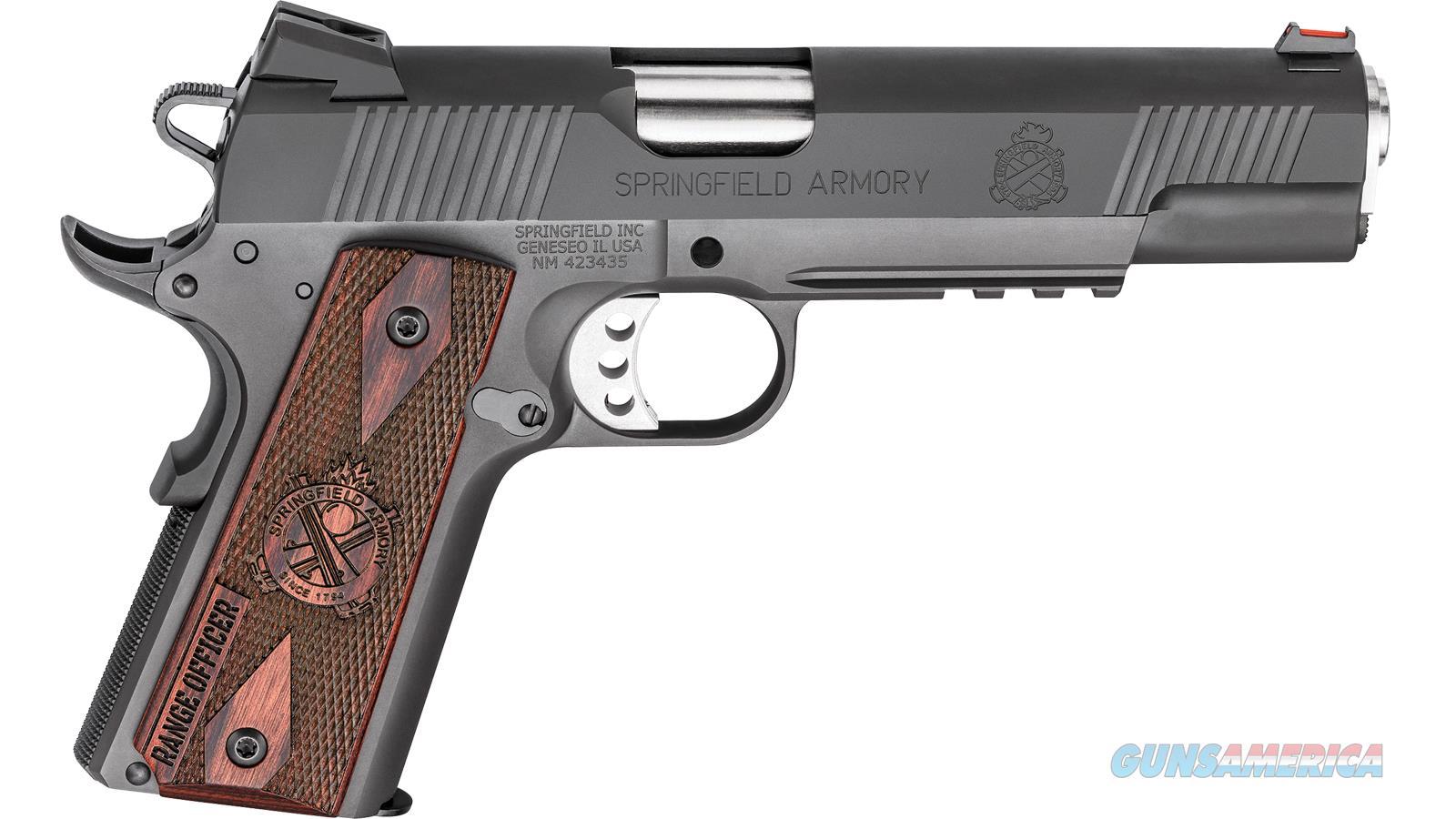 Springfield Armory 1911 45Acp 5 Range Officer Parkerized PI9131L  Guns > Pistols > S Misc Pistols