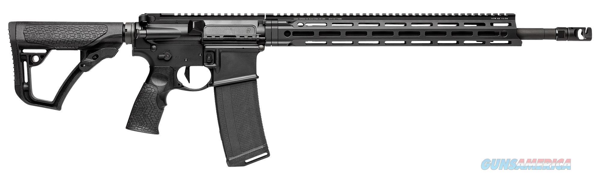 "Daniel Defense 16541055 Ddm4 V7 Pro *Ca Compliant* Semi-Automatic 223 Remington/5.56 Nato 18"" 10+1 6-Position Black Stock Black 16541055  Guns > Rifles > D Misc Rifles"