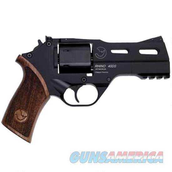 "Chiappa Firearmsmks Rhino 40Ds Blk 40Sw 4"" 6Rd 340.228  Guns > Pistols > C Misc Pistols"