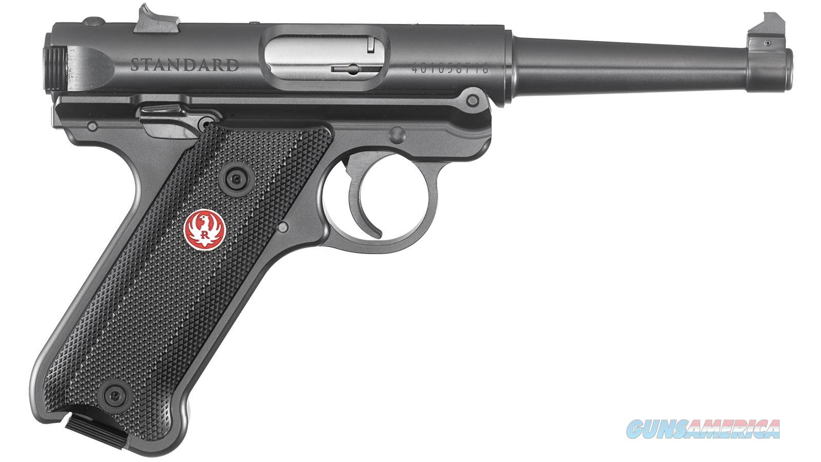 """Ruger Mark Iv Std 22Lr 4.75"""" 40104  Guns > Pistols > R Misc Pistols"""