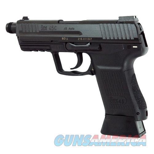 Heckler & Koch Hk45 Compact Tact V7 Dao 45Acp Night Sights 10Rd Black 745037TA5  Guns > Pistols > H Misc Pistols